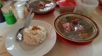 Photo of Soup Place Sop Buntut Sapi Ma' Emun at Bangbarung, Bogor, Indonesia