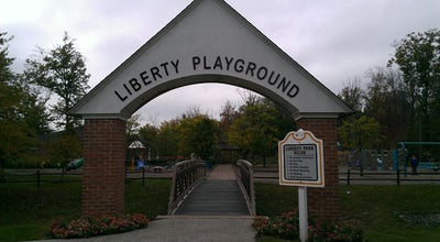 Photo of Playground Liberty Playground at Elmwood Park, Independence, OH 44131, United States