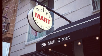Photo of Coffee Shop Nolita Mart at 156 Mott St, New York, NY 10013, United States