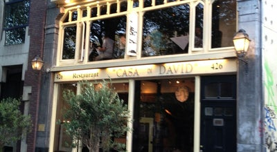 Photo of Italian Restaurant Casa di David at Singel 426, Amsterdam 1017 AV, Netherlands
