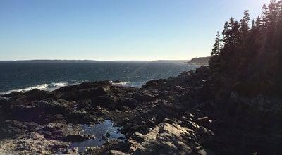 Photo of National Park Otter Cliff at Acadia Nat'l Park, Bar Harbor, ME 04609, United States