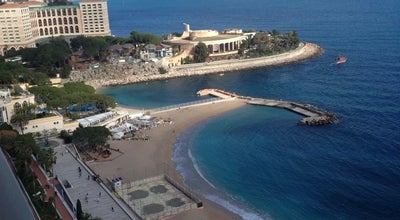 Photo of Beach Montecarlo Beach at Monaco, Monaco