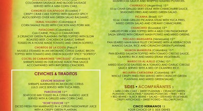 Photo of South American Restaurant Bolivar Restaurant •  Lounge at 841 Washington Ave, Miami Beach, FL 33139, United States