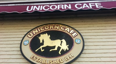Photo of Coffee Shop Unicorn Café at 1723 Sherman Ave, Evanston, IL 60201, United States