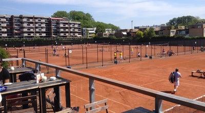 """Photo of Tennis Court TV """"Kralingen"""" - IJsclub at Jeruzalemstraat 12-36, Rotterdam 3061, Netherlands"""