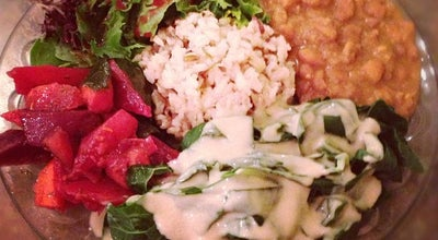 Photo of Vegetarian / Vegan Restaurant Shangri-La Vegan at 4001 Linden St., Oakland, CA 94608, United States