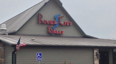 Photo of American Restaurant River City Grille at 700 1st St, Marble Falls, TX 78654, United States
