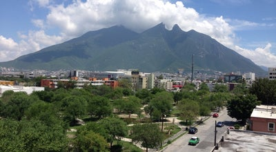 Photo of Park Parque Tecnológico at Calle Agrónomos Y Filósofos, Monterrey 64700, Mexico