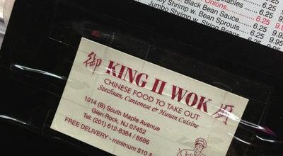 Photo of Chinese Restaurant King Wok II at 1014 S Maple Ave, Glen Rock, NJ 07452, United States