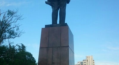 Photo of Monument / Landmark Памятник Ленину at Курортный Просп., Сочи, Russia