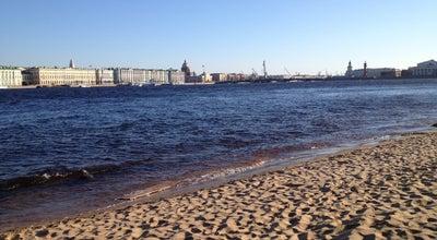 Photo of Beach Пляж Петропавловской крепости at Заячий Остров, Санкт-Петербург, Russia