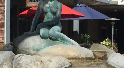 Photo of Outdoor Sculpture Little Mermaid Statue at Solvang, CA 93463, United States