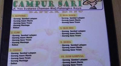 """Photo of Diner Sea Food """"Campur Sari"""" at Jl. Yos Sudarso, Palangka Raya 73111, Indonesia"""