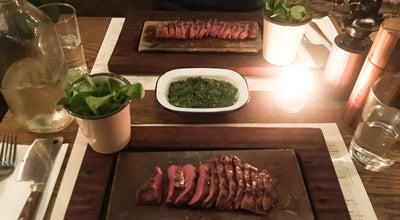 Photo of Steakhouse Flat Iron at 17-18 Henrietta St, Covent Garden WC2E 8QH, United Kingdom