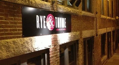 Photo of American Restaurant Rye & Thyme at 14 Monument Sq, Leominster, MA 01453, United States