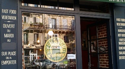 Photo of Vegetarian / Vegan Restaurant East Side Burgers at 60 Boulevard Voltaire, Paris 75011, France