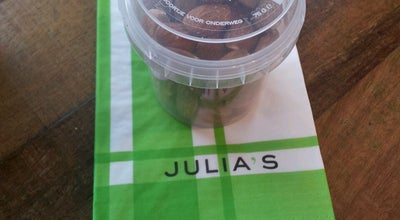Photo of Italian Restaurant Julia's at Stationsplein 24, Leiden 2312 AK, Netherlands