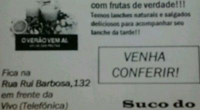 Photo of Juice Bar Suco do Hori at R. Rui Barbosa, Presidente Prudente, Brazil