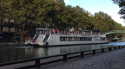 Photo of Outdoors and Recreation Canal Saint-Martin at Quai De Valmy, Paris 75010, France