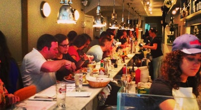 Photo of Seafood Restaurant Ed's Lobster Bar at 222 Lafayette St, New York, NY 10012, United States