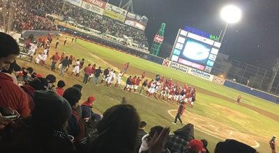 """Photo of Baseball Field Estadio """"Nido de los Águilas"""" at Calz. Cuauhtemoc S/n, Mexicali 21230, Mexico"""