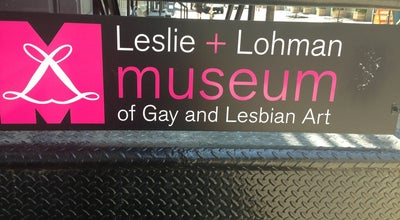 Photo of Art Gallery Leslie+Lohman Museum of Gay & Lesbian Art at 28-26 Wooster St, New York, NY 10013, United States