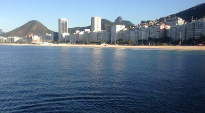 Photo of Bathing Area Posto 2 at Pr. De Copacabana, Rio de Janeiro 22021-000, Brazil