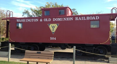 Photo of Sculpture Garden W&OD Herndon Caboose at 726 Lynn St, Herndon, VA 20170, United States