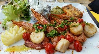 Photo of Seafood Restaurant Le Comptoir at sainte croix du verdon, France