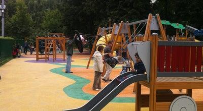 Photo of Playground Детская площадка at Пкио «красная Пресня», Москва, Russia