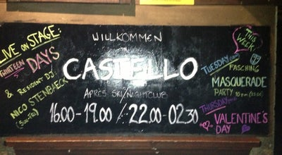 Photo of Nightclub Castello | Club - Bar - Apres Ski at Dorfplatz 27, Saalbach 5753, Austria