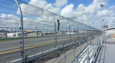 Photo of Racetrack Daytona International Speedway Turn 4 at Daytona Beach, FL 32114, United States