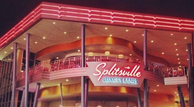 Photo of Bowling Alley Splitsville Luxury Lanes at 1494 E Buena Vista Dr, Lake Buena Vista, FL 32830, United States