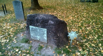 Photo of Cemetery Grave of Samuel Adams at Boston, MA, United States