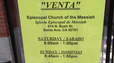 Photo of Church Episcopal Church of the Messiah at 614 N Bush St, Santa Ana, CA 92701, United States