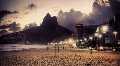 Photo of Bathing Area Posto 11 at Pr. Do Leblon, Rio de Janeiro, Brazil