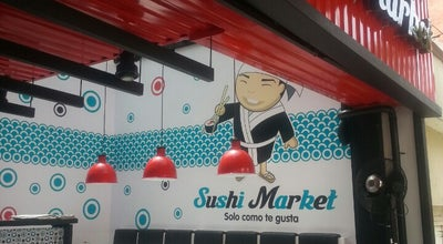 Photo of Sushi Restaurant Sushi Market Laureles at Circular 76 Con Transversal 39, Medellín 050031, Colombia