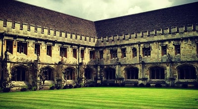 Photo of University Magdalen College at High St, Oxford OX1 4AU, United Kingdom