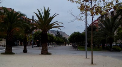 Photo of Park Bulevar del Pla at Av. Periodista Rodolfo De Salazar, Alicante 03013, Spain