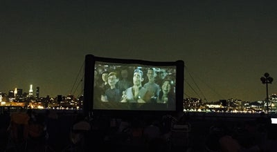 Photo of Movie Theater Movies Under The Stars at Hoboken, NJ, United States