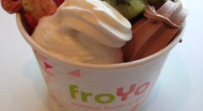 Photo of Ice Cream Shop Fro-Yo at 95 Concord Plaza Shopping Ctr, Sappington, MO 63128, United States