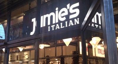 Photo of Italian Restaurant Jamie's Italian at Markthal, Rotterdam 3011 PA, Netherlands