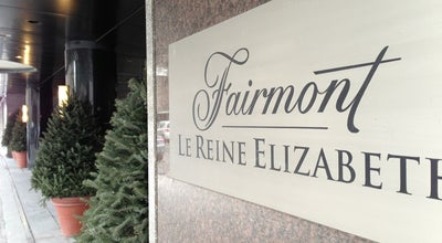 Photo of Hotel Fairmont The Queen Elizabeth at 900, Boul. René-levesque Ouest, Montréal, QC H3B 4A5, Canada