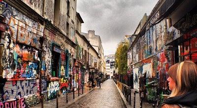 Photo of Tourist Attraction Rue Dénoyez at Rue Dénoyez, Paris 75020, France