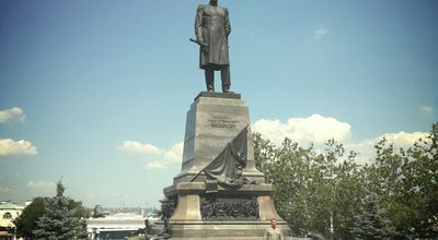 Photo of Monument / Landmark Памятник Павлу Нахимову / Monument to Pavel Nakhimov at Площадь Нахимова / Nakhimova Square, Севастополь, Ukraine