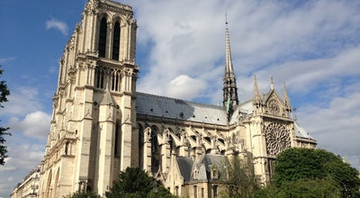 Photo of Church Cathédrale Notre-Dame de Paris at 6 Place Du Parvis Notre-dame, Paris 75004, France