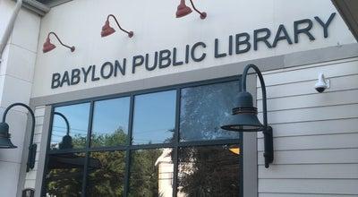 Photo of Library Babylon Public Library at 24 S Carll Ave, Babylon, NY 11702, United States