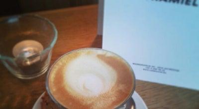 Photo of Cafe Cafe Kamiel at Markgravelei 90, Antwerp 2018, Belgium