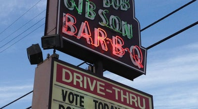 Photo of BBQ Joint Big Bob Gibson's BBQ at 1715 6th Ave Se, Decatur, AL 35601, United States
