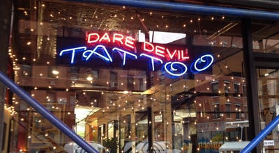Photo of Tattoo Parlor Daredevil Tattoo at 141 Division St, New York, NY 10002, United States
